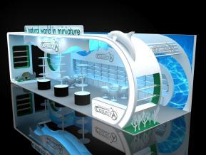 COLLECTA展台模型
