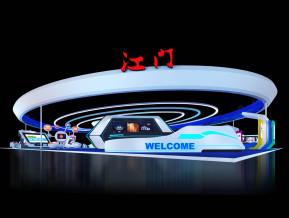 江门展览模型