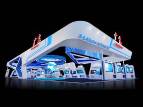 广东展台展览模型