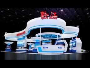 黔江展览模型