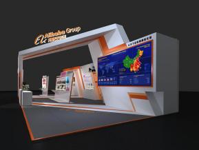 阿里巴巴展览模型