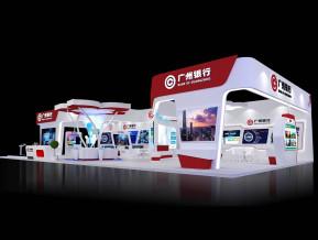 广州银行展览展示模型