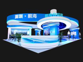 深圳前海展览展示3D模型