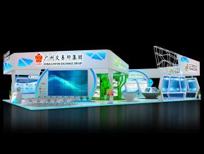 广州交易所展览模型