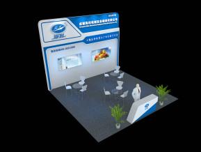 海科机械展台模型