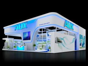 AUX奥克斯空调展台模型