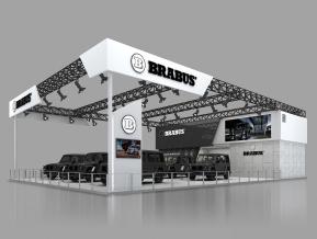 巴博斯展览模型