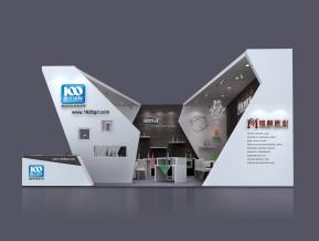 南天国际展览模型