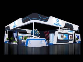 中国发明成果展览模型