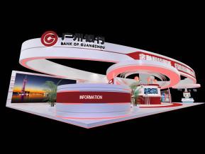 广州银行展览模型