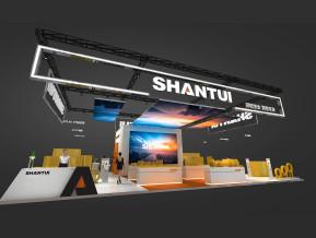 SHANTUI山推展台模型