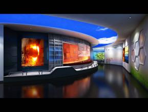 文化展馆3D模型