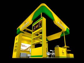 威尔顿润滑油展览模型