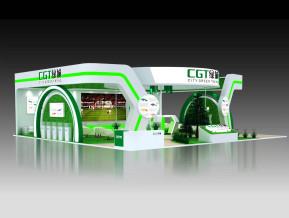 绿城展览模型