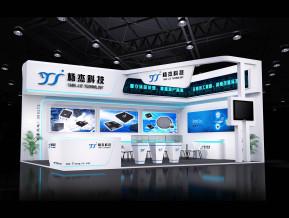 杨杰电子展览模型