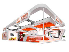 平安银行展览模型