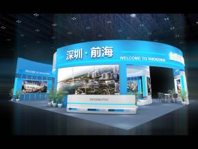 深圳前海展览模型