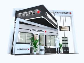 LED医药展展台