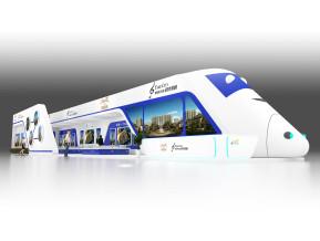 碧桂园火车造型
