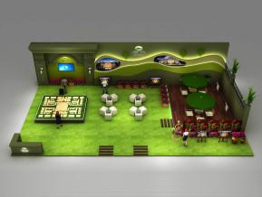 恒泰里宫展览模型