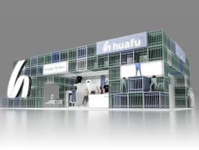 huahu华孚展览模型