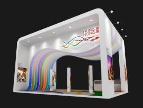 香港展台模型