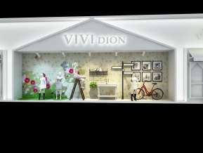 VIVI展览模型