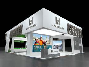 拉法基豪瑞展览模型