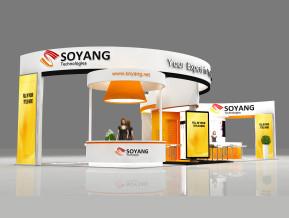 SOYANG品牌展览展示展台模型