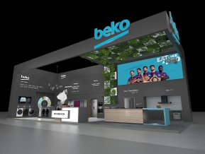 beko展台模型