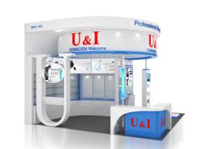 U&I电子展台模型