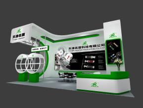 名震科技展览模型