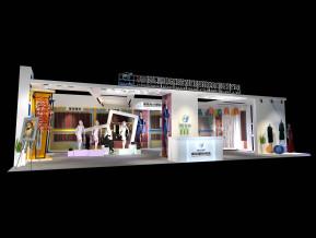 德弘纺织面料展览模型