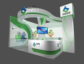 泷涛环境展览模型