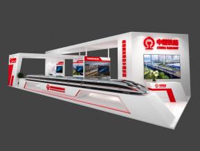 中国铁路交通展览模型