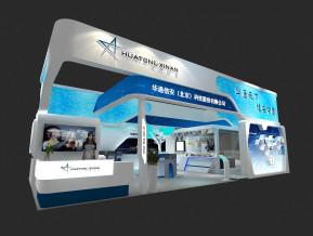 华通信安科技展览模型