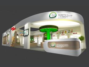 广州金柔展览模型