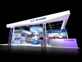 泰豪科技展览模型