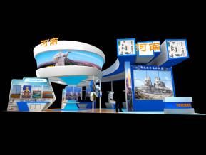 河南旅游展览模型