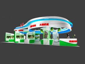 武威展览模型