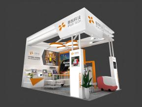 迦智科技展览模型