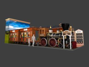 加拿大百加世展览模型