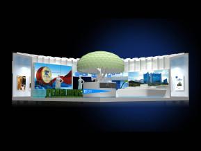 珠江地产展览模型