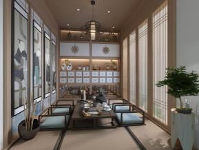 中式榻榻米茶室
