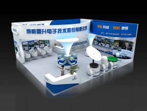 盟升电子展览模型