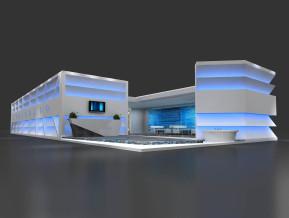 卫浴展设计方案