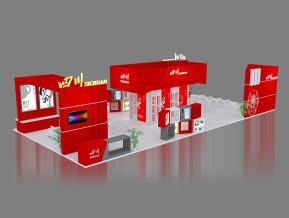 四川展览模型
