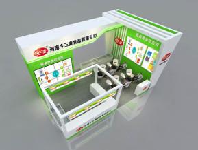 金三麦食品展览模型