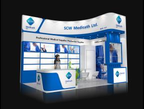 SCW展览模型