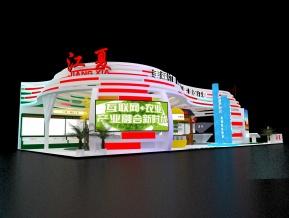 江夏区展览模型